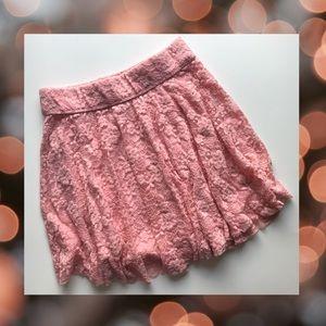Hollister Lace Skater Skirt